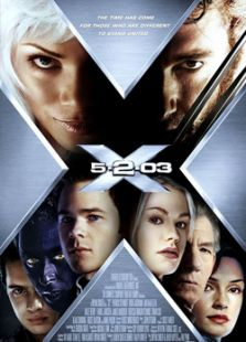X战警2标题