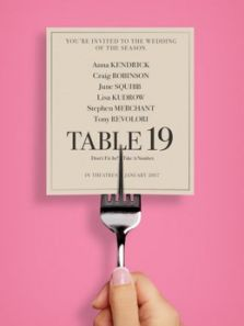 婚宴桌牌19号背景图