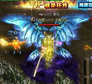 大天使之剑战士四代翅膀形象效果展示