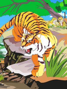 萬獸之王-老虎