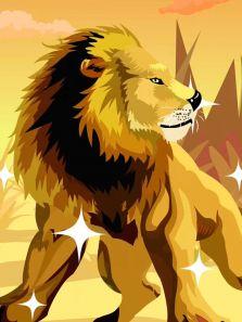 草原霸主-獅子