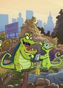 小顽皮鳄鱼历险记